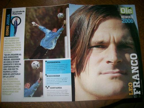 poster leo franco- seleccion (066) ole heroes 2006