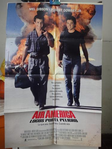 poster locos por el peligro mel gibson robert downey jr 199