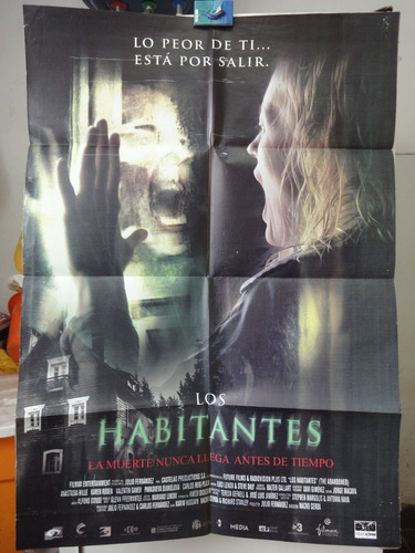 poster los habitantes the abandoned anastasia hille karel