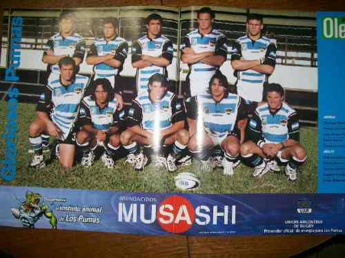 poster los pumas 2001 rugby (369) ole