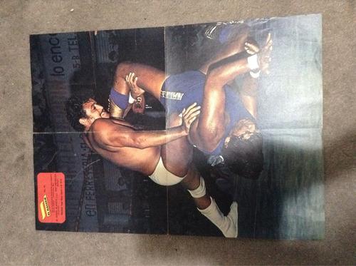 poster lucha libre