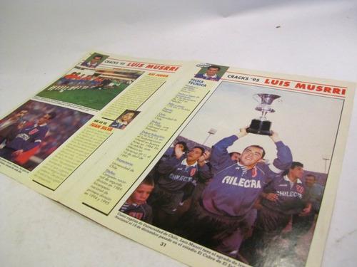 poster luis musrri division 1995