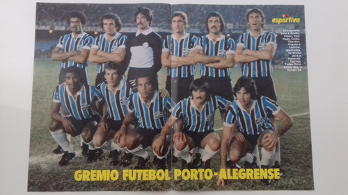 poster manchete esportiva grêmio futebol porto alegrense