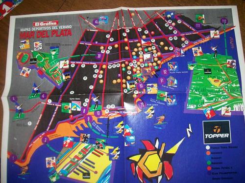 poster mar del plata mapas deportivos del verano (154)