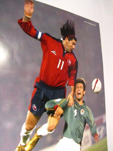 poster marcelo salas seleccion chilena