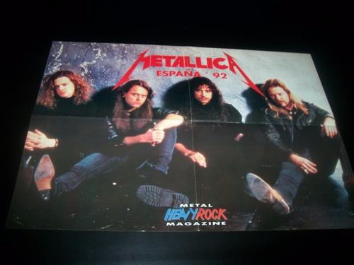 poster metallica * 4 paginas (a009)