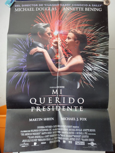 poster mi querido presidente michael douglas annette bening