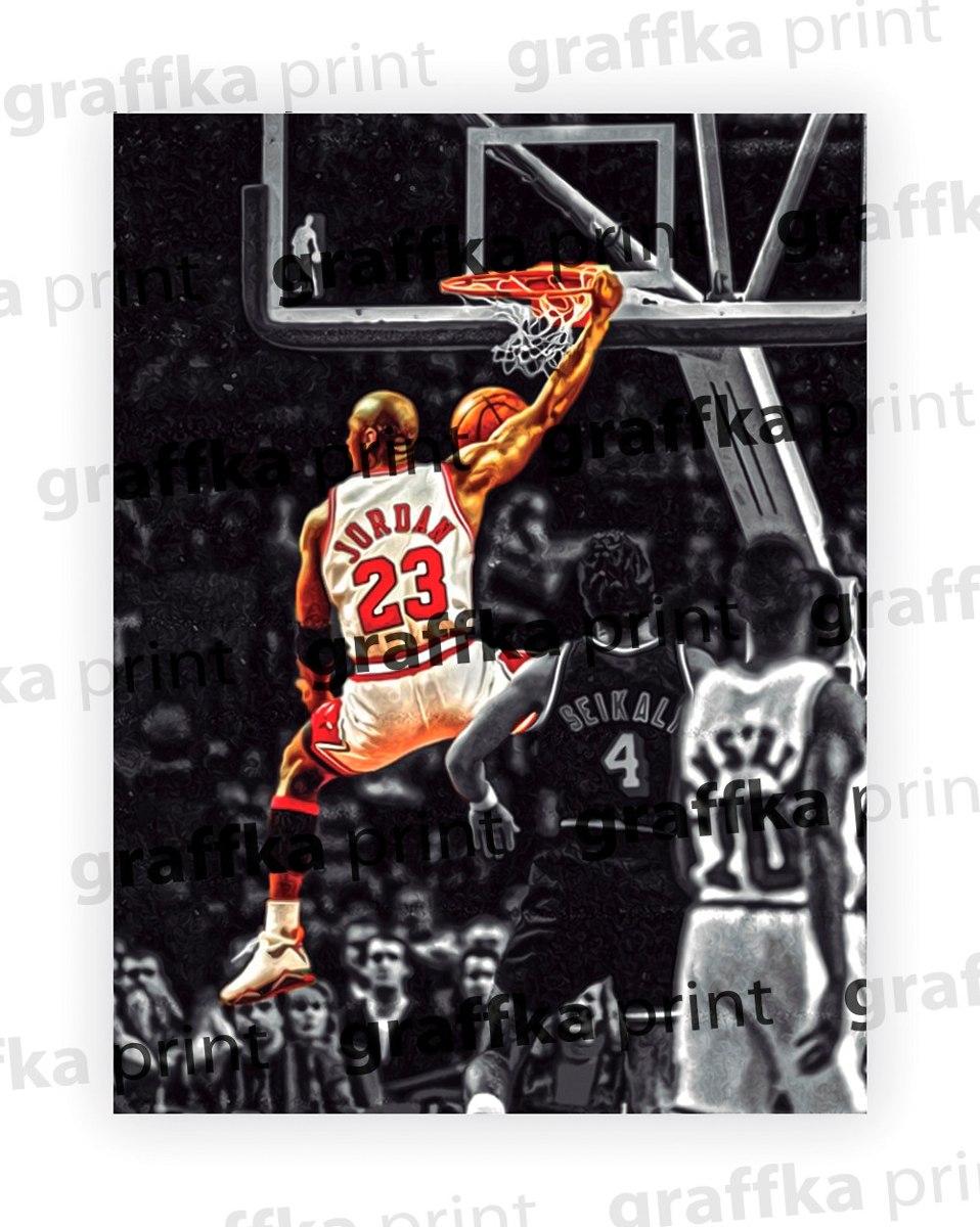 regard détaillé 1599d 03aa6 Poster Michael Jordan #1 30x40cm Papel Couche 300g