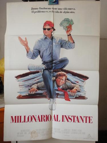 poster millonario al instante james belushi charles grodin