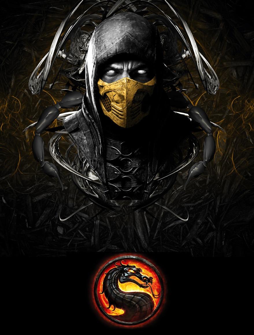 Mortal kombat 9 poster