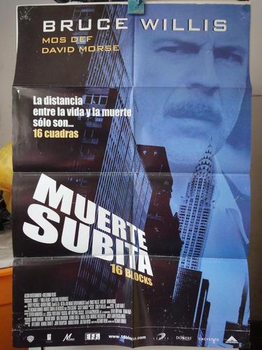 poster muerte subita bruce willis mos def david morse 2006