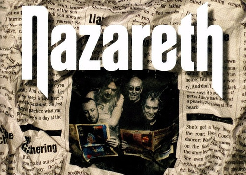 poster nazareth hd 50x70cm pra decorar quarto rock metal