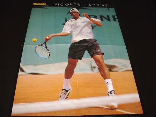 poster nicolas lapentti * 4 paginas (a081)