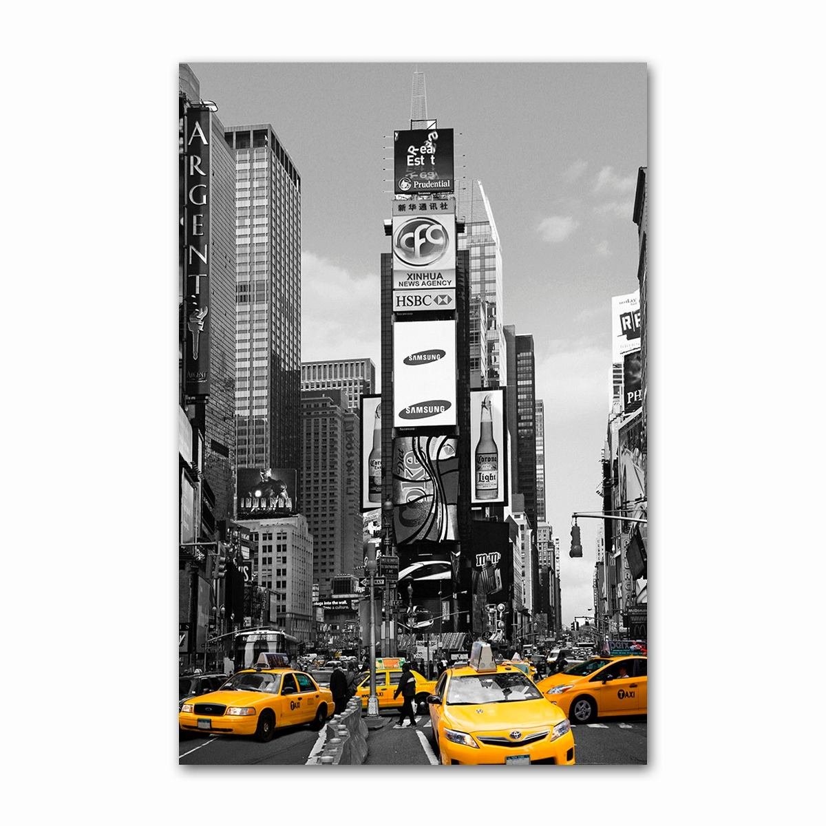 Poster New York Taxi.Poster Nova York Taxi Times L3q Square Decoracao Wall Sala R 26