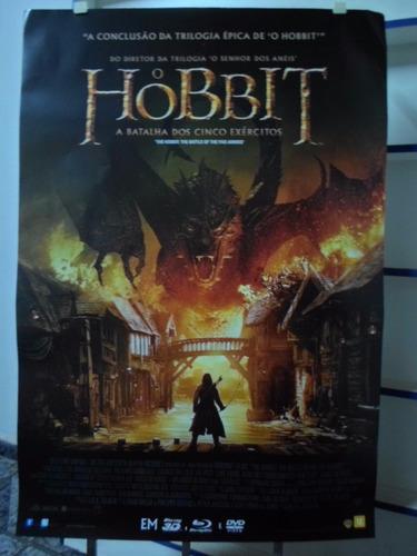 poster o hobbit - a batalha dos cinco exercitos