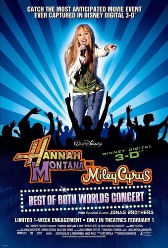 poster original cine hannah montana