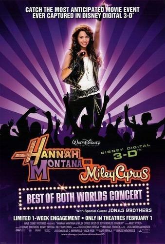 poster original cine hannah montana ( miley cyrus )