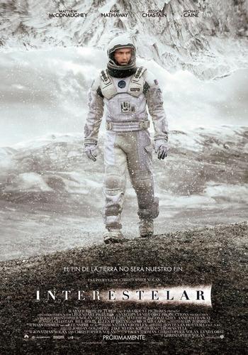 poster original cine interestelar