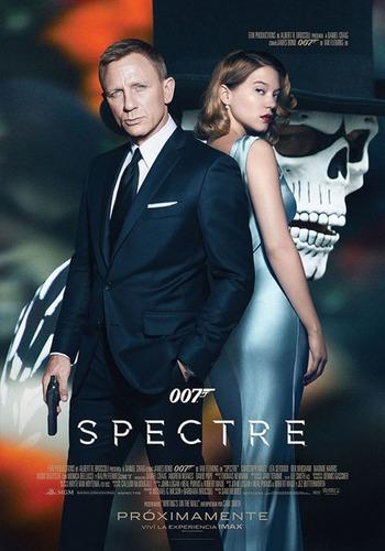 poster original cine james bond 007 - spectre