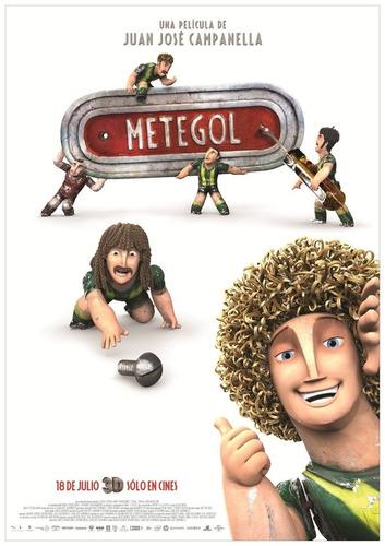 poster original cine metegol (motivo 2)