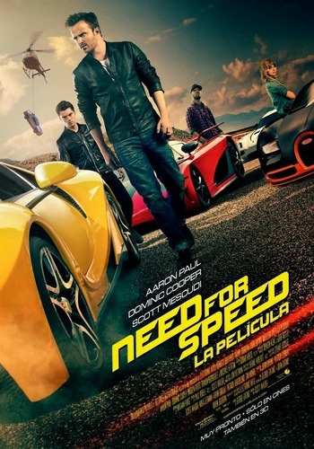 poster original cine need for speed