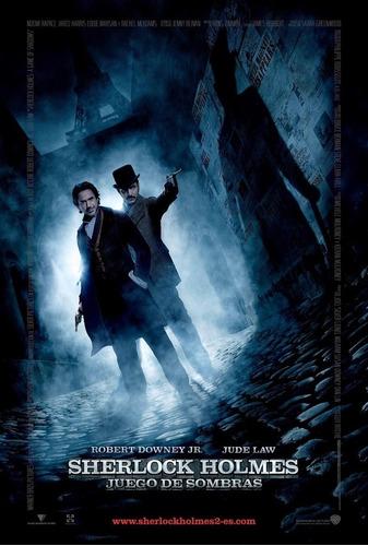 poster original cine sherlock holmes 2