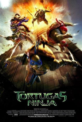 poster original cine tortugas ninja