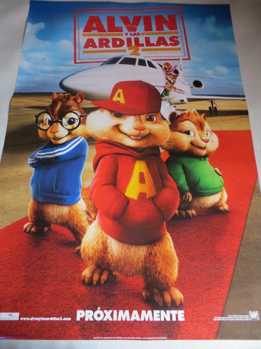 Poster Original De La Pelicula Alvin Y Las Ardillas 2 - S ...