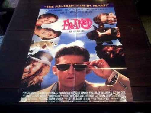 poster original freaked alex winter randy quaid tom stern 93
