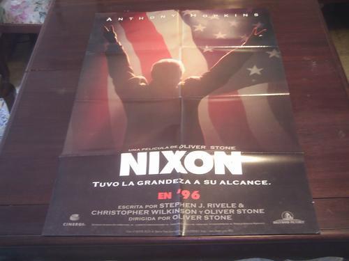 poster original latino nixon anthony hopkins oliver stone 95