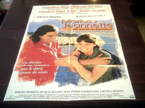 poster original marius y jeannette g meyland ariane ascaride