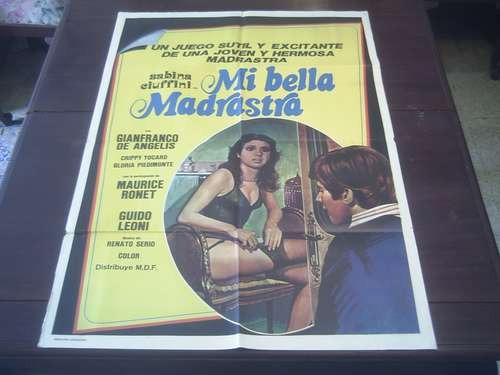 poster original oh mia bella matrigna sabina ciuffini 1976