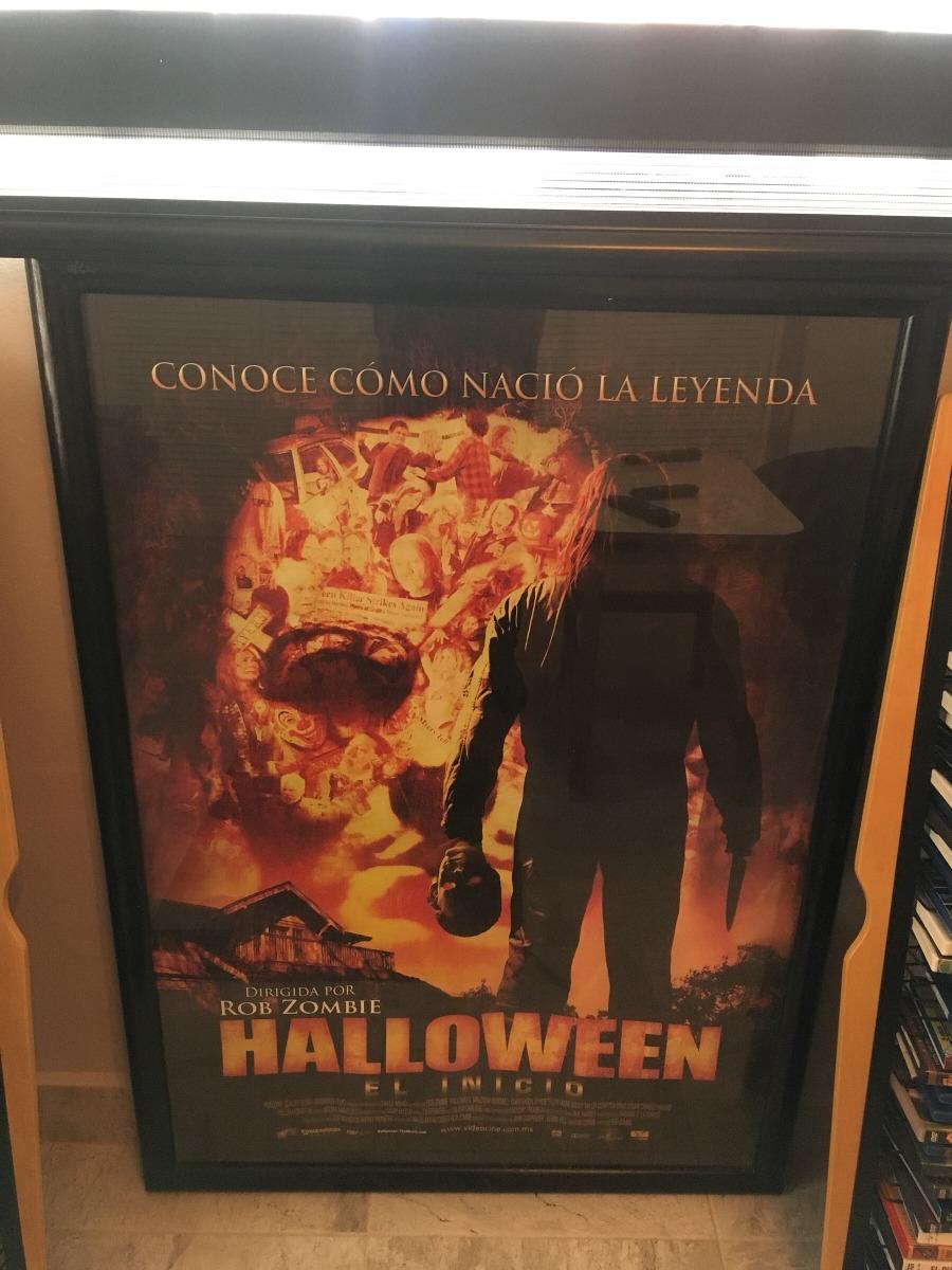 Póster Original Película Halloween Rob De Zombie Enmarcado ...