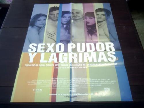 poster original sexo pudor y lágrimas demián bichir zabaleta