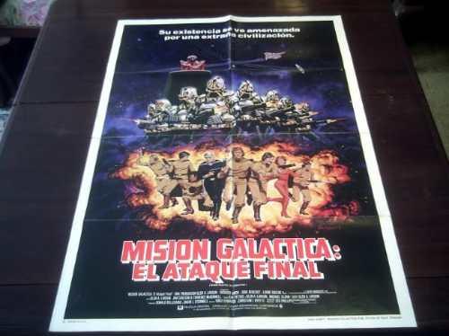 poster orignal mission galactica the cyclon attack tenenbaum