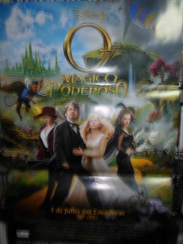 poster oz - magico & poderoso - 64 x 94