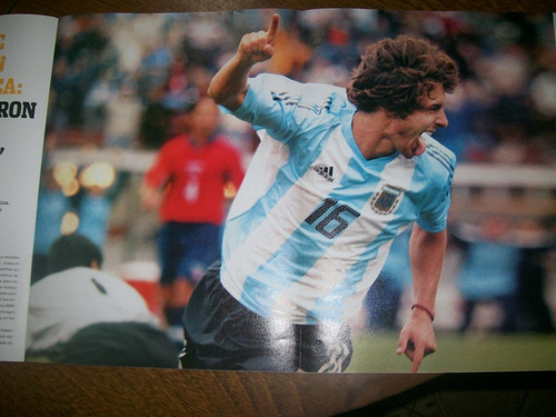 poster pablo aimar - seleccion (425) ole heroes 2006