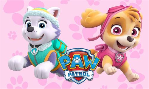 poster painel festa patrulha canina faço outros temas 90x60