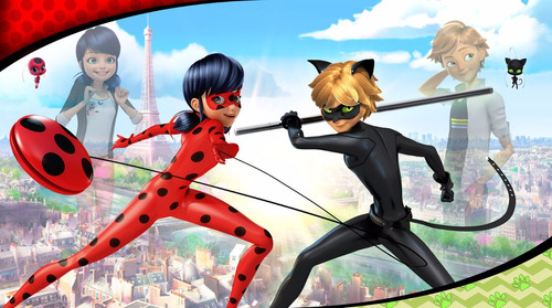 poster painel  ladybug miráculos