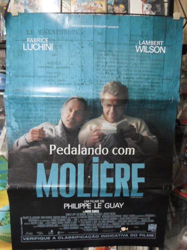 poster pedalando com moliere -  64 x 94