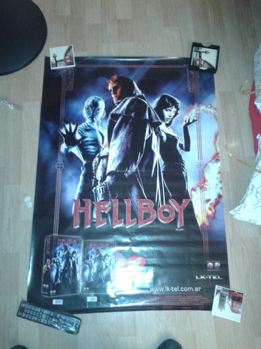poster pelicula hell boy 100 x 70