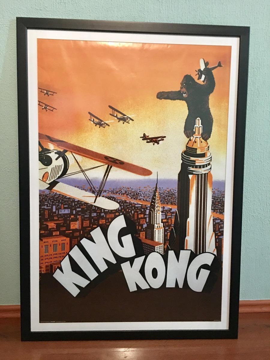 Póster Película King-kong, Enmarcado 97x60 Cm - $ 1,400.00 en ...