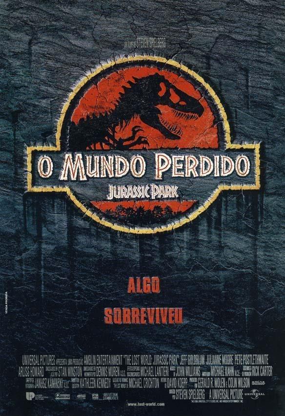 Poster Peq. (couche A3) De O Mundo..: Jurassic Park 2 / Vr.2 - R$ 30,00 em  Mercado Livre