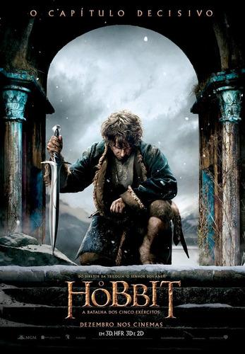 poster peq. (imp. couche a3) de o hobbit : a batalha...ver.1