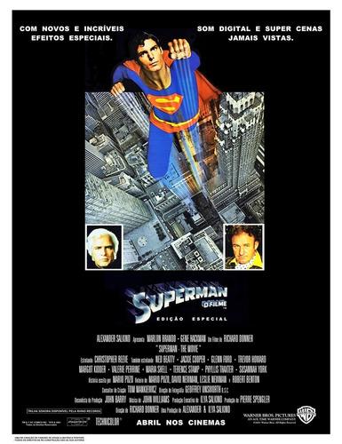 poster peq. (imp. couche a3) do superman : o filme / ver. 9