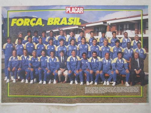 poster placar seleção brasil