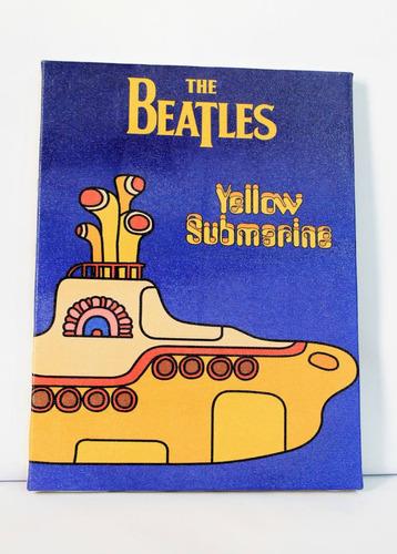 poster quadro beatles impresso em tela d pintura