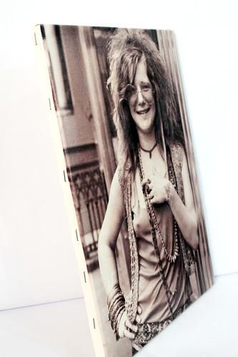poster quadro janis joplin impresso em tela de pintura