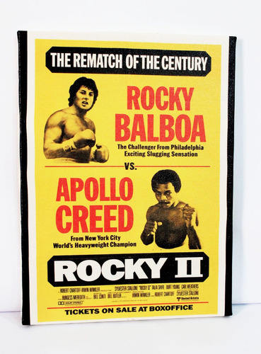 poster quadro rocky balboa