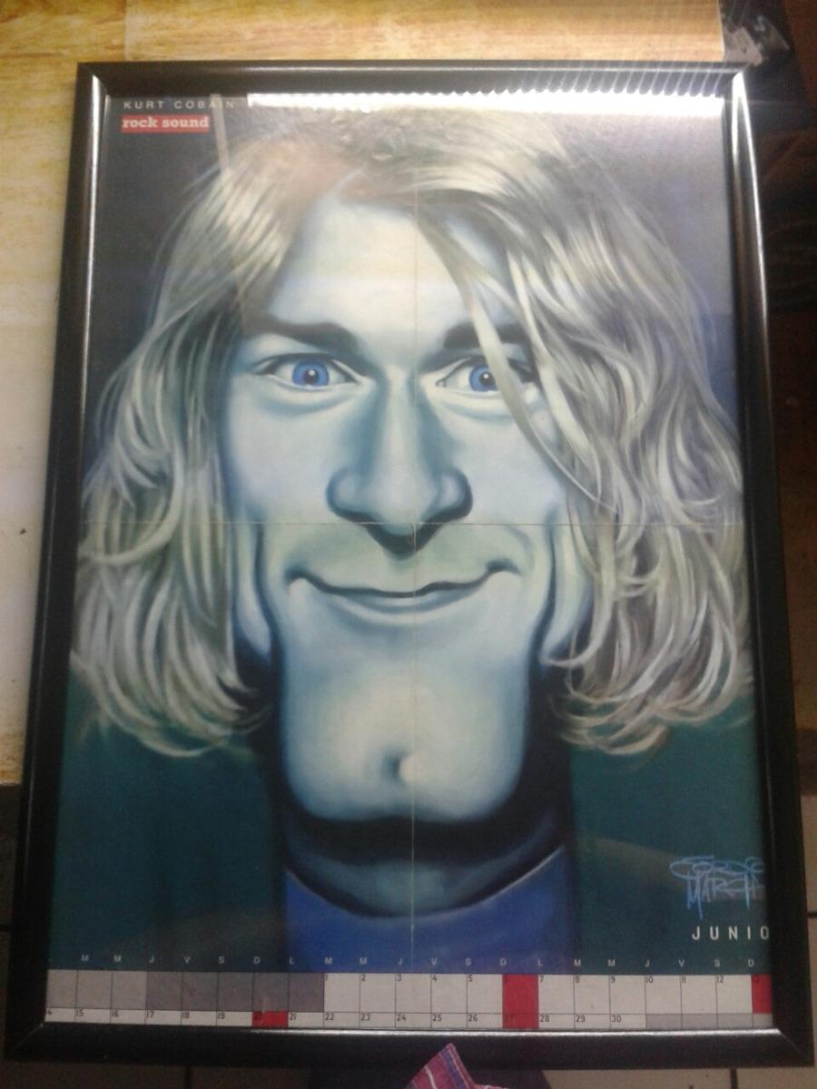 Poster Retrato De Kurt Cobain By Jordi March - $ 2,000.00 en Mercado ...